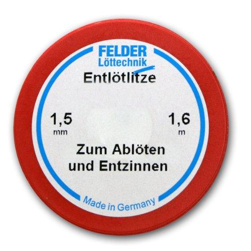 Felder 1,5mm Entlötlitze - 1,6m auf Klappspule