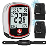DREAM SPORT Wireless Bike Computer with Cadence and...