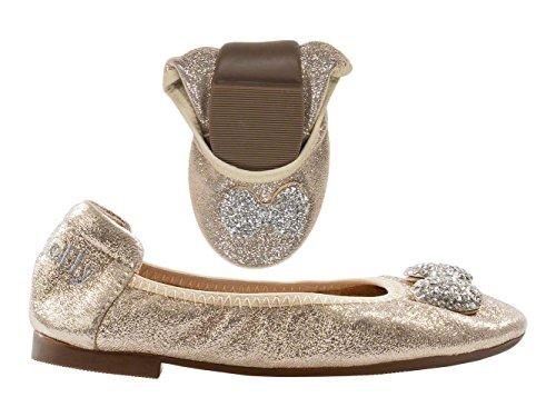 LELLY KELLY scarpe bambina ballerine LK4102 AG01 ORO taglia 28 Oro
