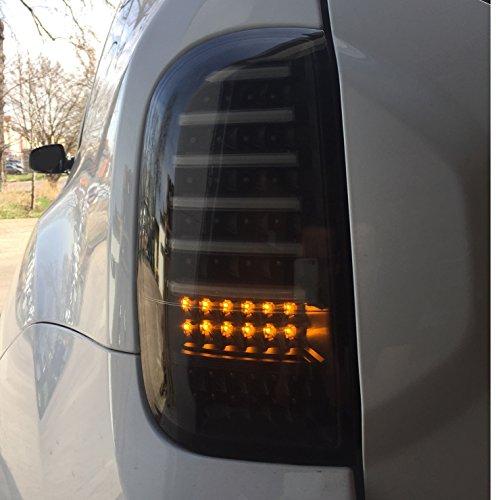 Lightbar Voll LED Rückleuchten tiefschwarz RD02LBSY Litec schwarz Heckleuchte Laufblinker