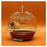 OMING Vogelkäfige Papagei Metall Vogelkäfig Große Edelstahl Galvanisierung Starling Myna Xuanfeng...