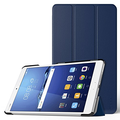 MoKo Kompatibel mit Huawei MediaPad M3 8.4 Hülle - Ultra Slim Lightweight Schutzhülle Smart Cover Standfunktion für MediaPad M3 8.4 2016 Tablet-PC, Indigo