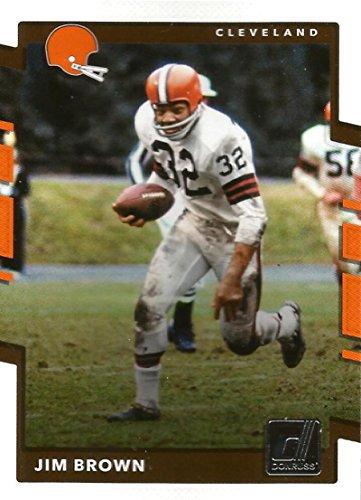 2017 Donruss #203 Jim Brown Cleveland Browns Football Card