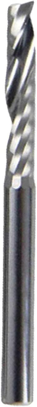 Leluo Lruirui-Shank 1 Flute Some reservation Spiral Router NEW before selling ☆ 3.175mm End CNC M Bits