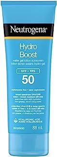 Neutrogena Suncare Neutrogena Hydro Boost Water Gel Lotion Sunscreen Spf 50, 88 ml.