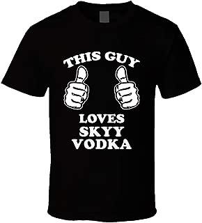 skyy vodka shirt