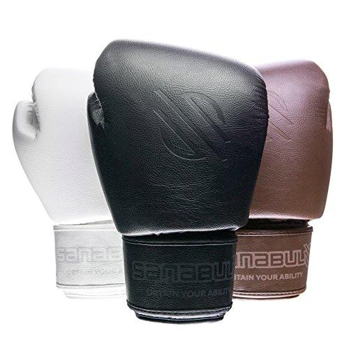 Sanabul Battle Forged Thai Style Kickboxing Professional Gloves (Black, 12 oz)