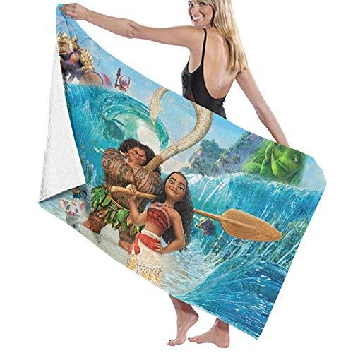 XCNGG Moana 2 Toallas de Playa Microfibra Manta Absorbente súper Suave para Adultos Mujeres Hombres