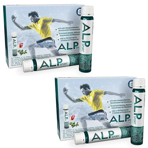 ALP SPORT multivitaminas y minerales con magnesio liquido vitamina C zinc selenio Vit E B complex B12 Q10 coenzima 28x25 ml ampollas bebibles suplementos deportivos…