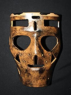 tripple_777 1:1 Custom Vintage Fiberglass Roller Ice Hockey Goalie Mask Helmet Terry Sawchuk HO98