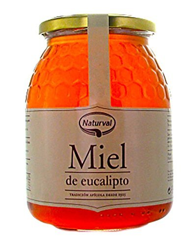 Naturval - Miel de Eucalipto, Aroma Amaderado y Sabor Rico y Dulce, 950 g