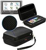 Navitech Schwarzes Shock Sicheres EVA Schutztasche / Cover / Case / Gehäuse kompatibel mit dem Garmin nüvi® 2597LMT
