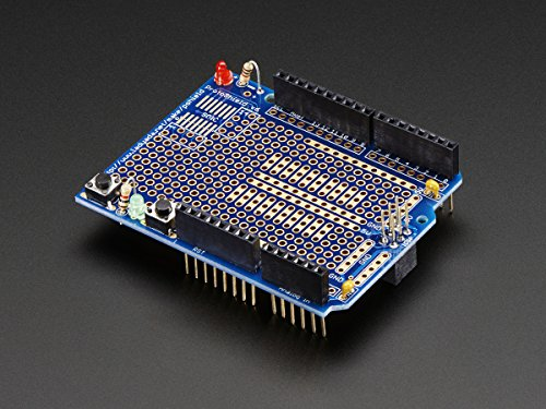 Adafruit Proto Shield for Arduino Kit - Stackable Version R3 [ADA2077]