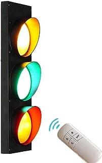 AKBOY Lampa ścienna z pilotem zdalnego sterowania, lampa do przedpokoju, oświetlenie ścienne, 5 W x 3 diody LED, lampa ści...