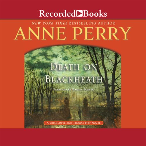 Death on Blackheath audiobook cover art