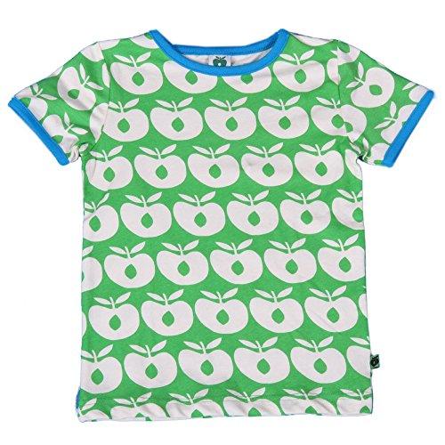 Smafolk Baby T-Shirt Äpfel grün-weiß Größe 56