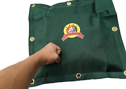 Leinwand Wand Tasche für Wing Chun Kung Fu Boxen Training Boxsack kräftigen Sand Tasche