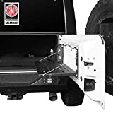 Hooke Road Tailgate Table Foldable Cargo Shelf Compatible with 2007-2018 Jeep Wrangler JK & Unlimited