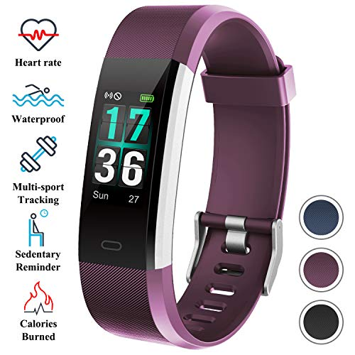 ITSHINY Montre Connectée, Montre Fitness Tracker Etanche IP68 Bracelet Connectée Montre de Sport...