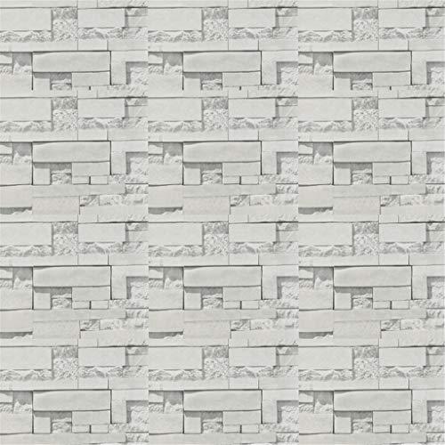 Gaoqi Papel de Pared 3D ladrillo Piedra Efecto rústico Autoadhesivo Pegatina de Pared decoración del hogar, decoración del hogar Pascua y Eid Onsale