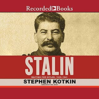 Stalin, Volume II     Waiting for Hitler, 1929-1941              Written by:                                                                                                                                 Stephen Kotkin                               Narrated by:                                                                                                                                 Paul Hecht                      Length: 49 hrs and 44 mins     6 ratings     Overall 5.0