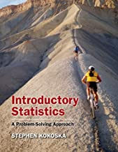 By Stephen Kokoska - Introductory Statistics: A Problem-Solving Approach [With CDROM] (Har/Cdr St) (12/16/09)