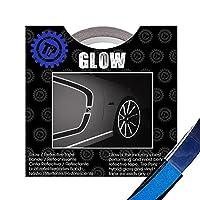 TIRE PENZ (タイヤペンズ)THE GLOW(ザ・グロウ) 塗装を侵さないリフレクターテープ 幅6.35mm×長さ9m BLUE