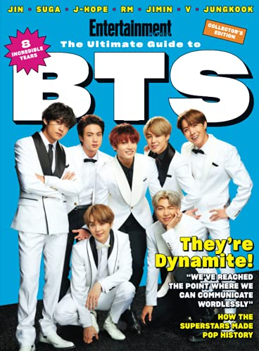 Compare Textbook Prices for Entertainment The Ultimate Guide to BTS  ISBN 9781547856800 by The Editors of Entertainment Weekly