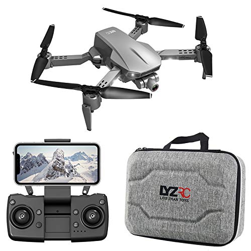 GPS Drone with 4K 2-axis stabilizer Gimbal Camera for Adults, 5G WiFi FPV Live Video Foldable RC Quadcopter with 1200M Long Control Range and 2 Batteries
