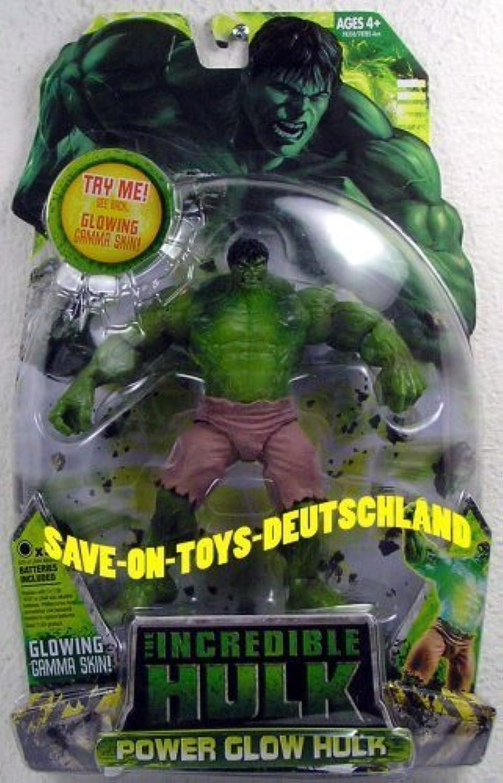 Marvel Hulk Movie Action Figure Power Glow Hulk