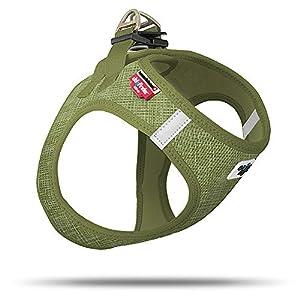 Curli Mylittledog Harnais Vest Air-Mesh Linen Olive Special Edition SE19 Se-OLI