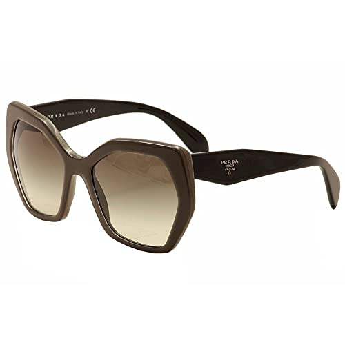 5fe8562b4a9 Prada 16RS UAM0A7 Grey and Black 16RS Butterfly Sunglasses Lens Category 2