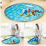 Zonster Kinderspielzeug, Portable Game Pad Pad Blanket Travel Pouch Zum Shop Picknick-Matten, 1 StüCk (Blau, 150cm)