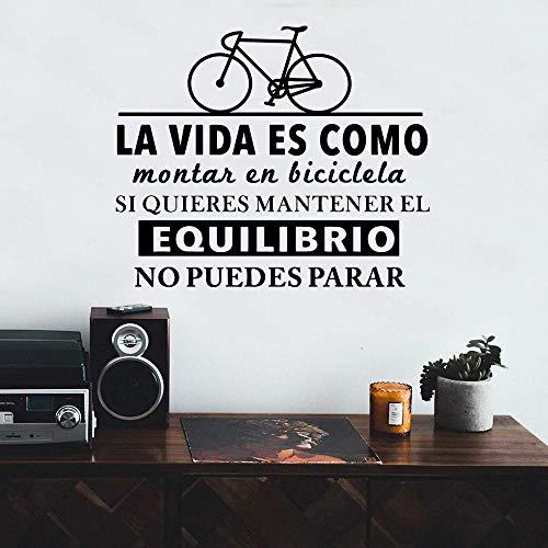 Hot Selling Spanish Quotes Wandaufkleber, Vinyl Art Postings für Wohnzimmer Dekoration, Phrase Schlafzimmer Dekoration | Wandaufkleber |