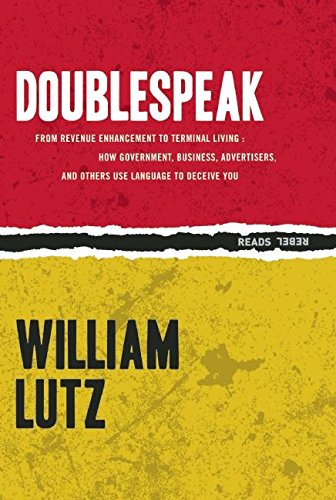 Image of Doublespeak (Rebel Reads)