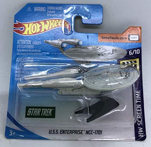 2019 Hot Wheels U.S.S. Enterprise NCC-1701 6/10 HW Screen Time 3/250 (Short Card) Star Trek