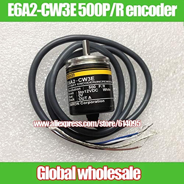 Utini 1pcs E6A2-CW3E 500P R Encoder for Omron incremental redary Optical Encoder Encoder for Freescale Smart car