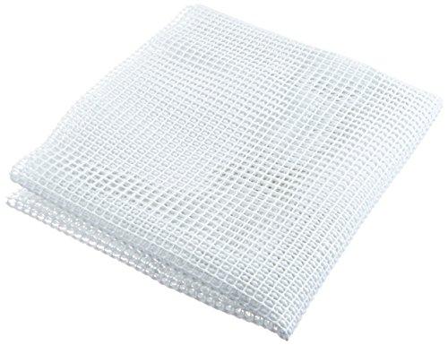 Cleverbrand Sottofondo antiscivolo durabile per tappeto tappetino, bianco, circa 61 x 244 cm