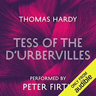 Tess of the D'Urbervilles                   By:                                                                                                                                 Thomas Hardy                               Narrated by:                                                                                                                                 Peter Firth                      Length: 14 hrs and 27 mins     552 ratings     Overall 4.4
