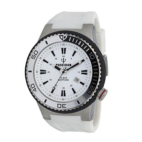POSEIDON by KIENZLE XL Uhr Analog mit Silikon Armband UP00612