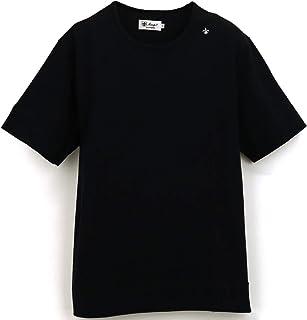 [Sweep!! LosAngeles スウィープ ロサンゼルス] メンズ コットン 半袖 クルーネックTシャツ BASIC T SHIRTS SL160001 BLACK(ブラック)