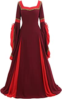 Women's Cosplay Renaissance Medieval Princess Gown