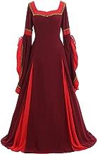 CosplayDiy Women's Cosplay Renaissance Medieval Princess Gown