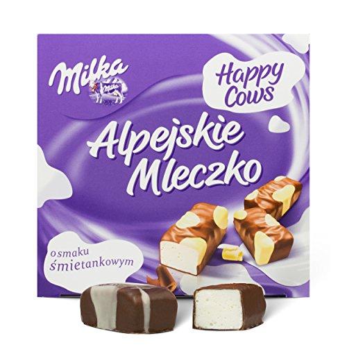 Milka Alpejskie Mleczko Pralinen mit Sahnegeschmack 330g
