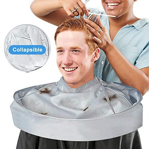 Capa de peluquería para adultos, bata de peluquería barbero, capas de corte peluqueria para niño hombre mujer, Paraguas de corte de cabello Capa de cuello de ropa peluqueria para peinado color