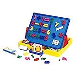 Wishtime ホワイトボード 黒板 3通り 数字パーツ付き お絵かきボード コンパクト 知育玩具 おもちゃ [並行輸入品]