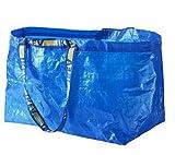[IKEA] FRAKTA キャリーバッグ L ブルー