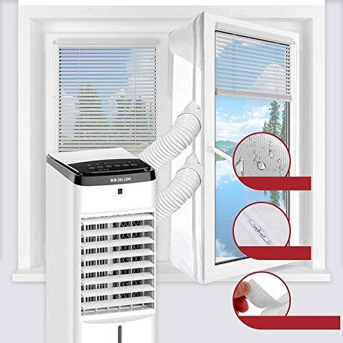 JOYEUX Hot Air Stop passend Fensterabdichtung für mobile Klimageräte und Ablufttrockner Hot Air Stop