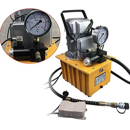 Hydraulische Pomp Elektrische Elektro-hydraulische Pomp 700Bar 750W met Handventiel 1,8m Olieslang