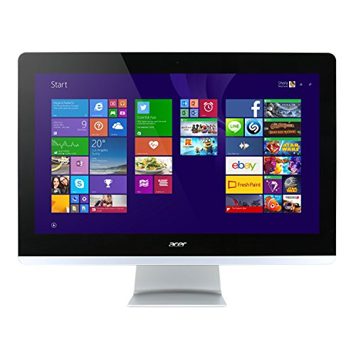Acer Aspire Z3-710 60,5 cm (23,8 Zoll) Full HD Desktop-PC (Intel Core i3-4170T, 4 GB RAM, 1000 GB SSHD, Intel HD Graphics 4400 Win 10 Home Touchscreen)